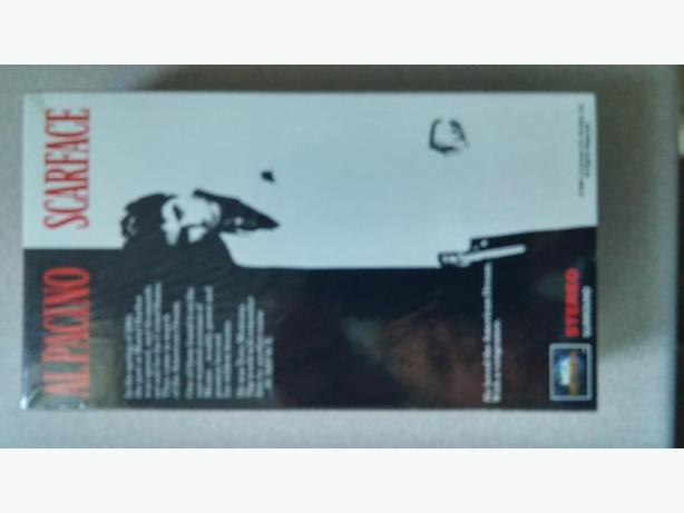 Scarface Mint-in-Box 2 pack VCR Collector Item