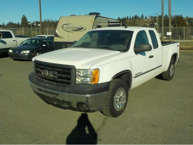 2012 GMC Sierra 1500 Extended Cab Regular Box 6.5 feet 4WD