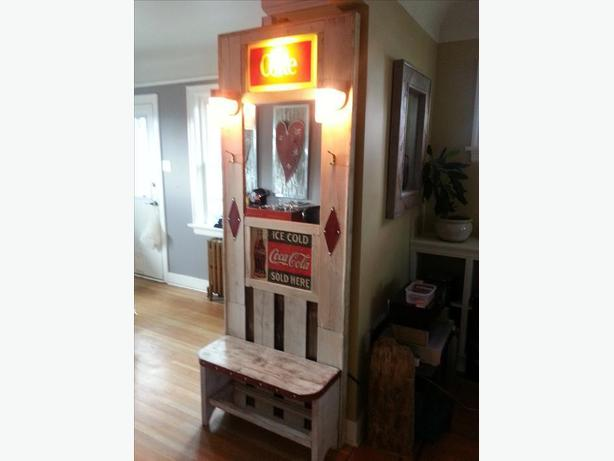 One-of-a-kind Hallway Stand