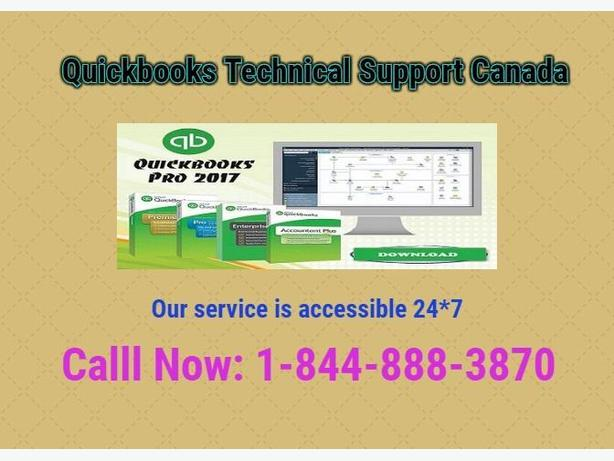Quickbooks Support Phone Number Canada 1-844-888-3870