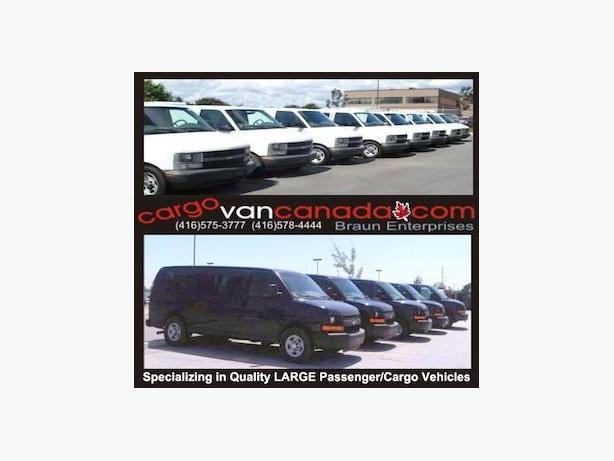 12 PASSENGER * 8 & 15* 2O15-2008 *AWD & RWD* Express/ Savana /Ford & CARGO