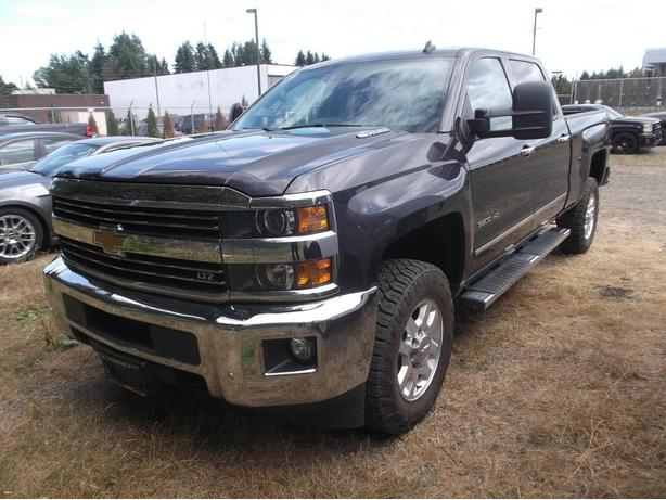 2015 CHEVY 3500 LTZ DIESEL 4X4 FOR SALE