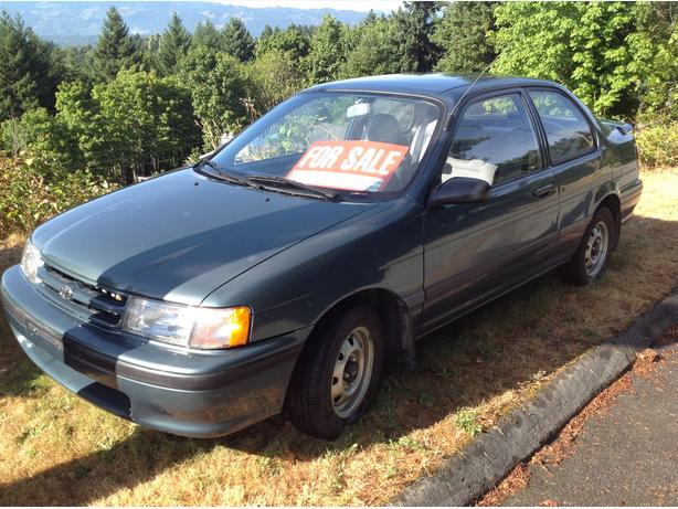 Tercel for sale (Low Km's)