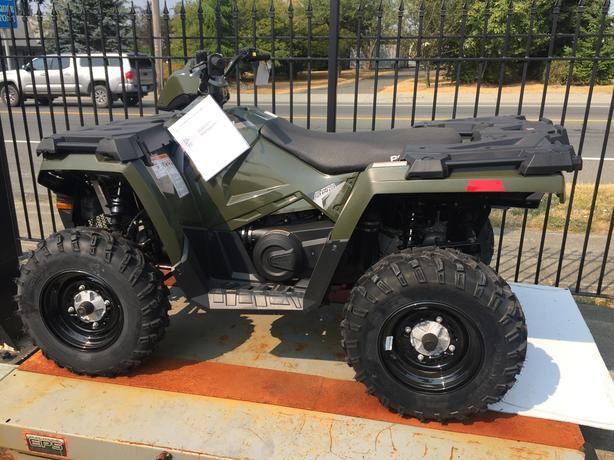 2017 POLARIS SPORTSMAN 450 HO EPS ATV