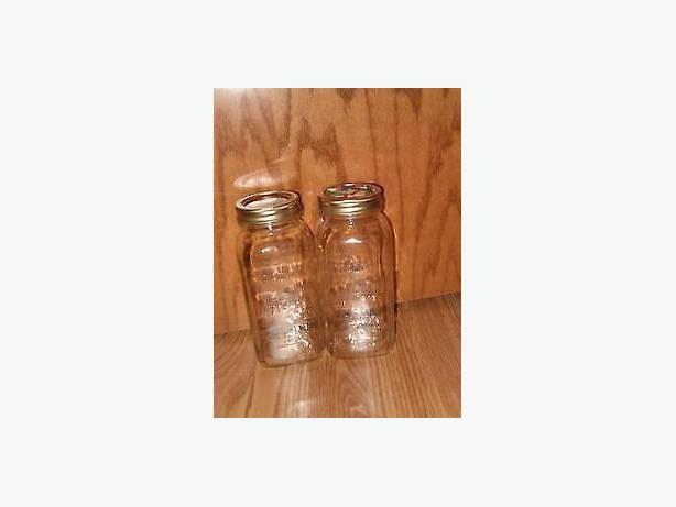 canning  jars one quart jars