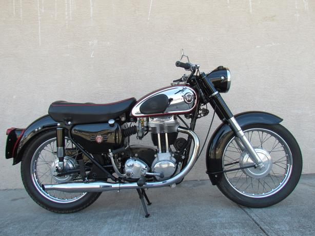 1959 Matchless G80 very nice well kept example of this model for sale