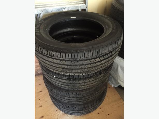 Brand New set of 4 All Seasons Tires Firestone Affinity 205/65/16