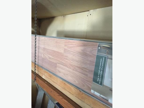 New in Package No Glue Hardwood Laminate Flooring
