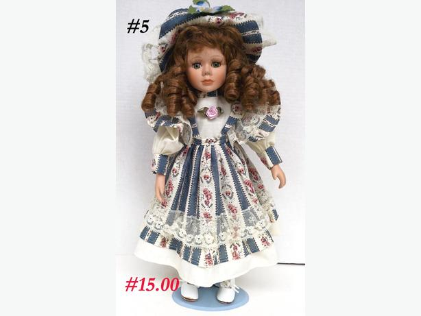 Collectible Dolls on Stands