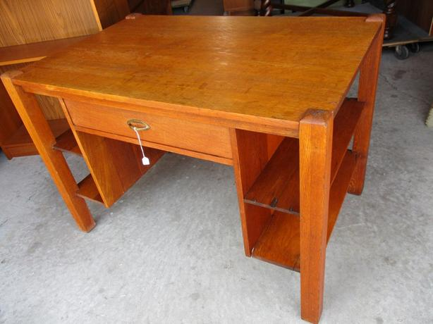 ESTATE 1900 OAK LIBRARY DESK