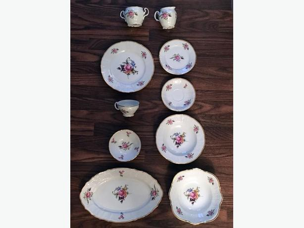 Complete 8-Piece Bernadotte Sonata Full China Set - NEVER USED