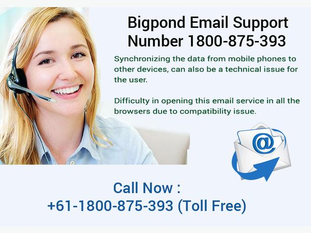 Get Quick Response at 1-800-875-393 Bigpond Webmail Support Number