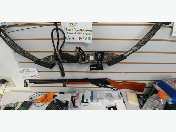 PSE Nova Compound Bow w/ case and arrows
