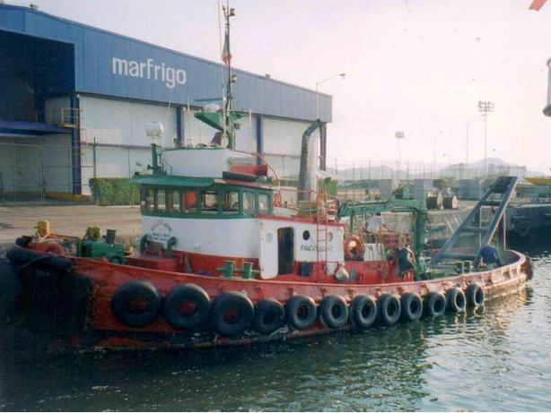 Working Tug Boat For Sale - Steel Hull - Deborah Foss (EX)