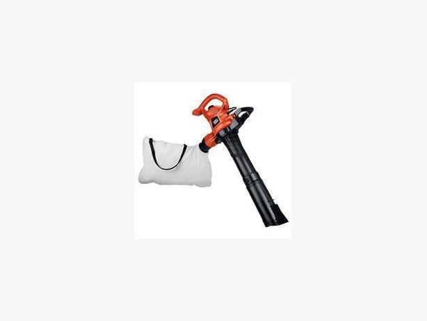 Used Black and Decker Leaf Blower/Vacuum