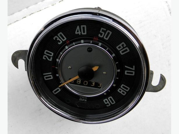 1965 66 67 -1956 VW Bug Volkswagen Beetle Karman Ghia Speedometer Speedo