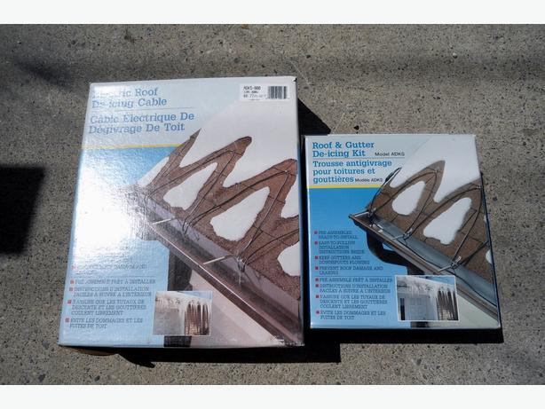EASY HEAT ROOF AND GUTTER DE-ICING CABLE