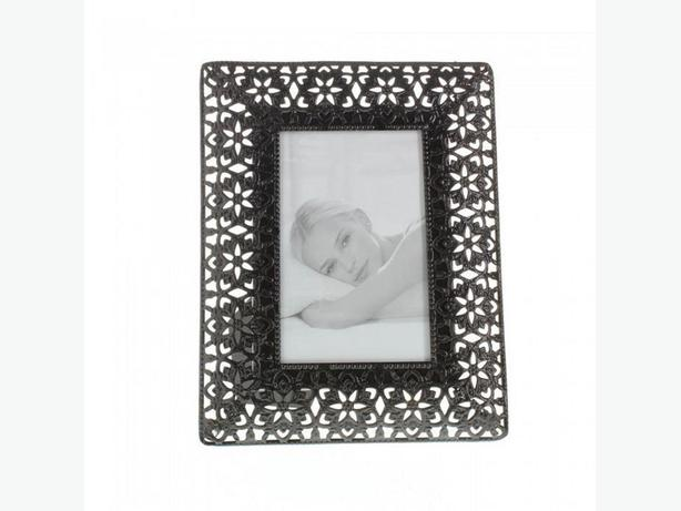 4X6 Black Photo Frame Cutout Floral Detail Gifts Resale 10 Lot NEW