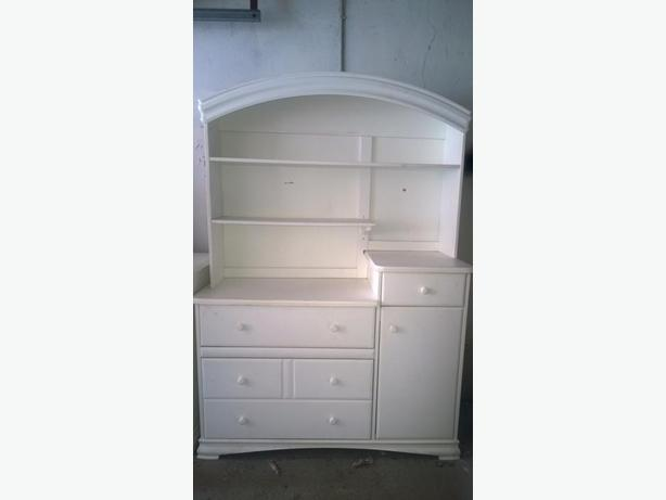 Solid wood Hutch, or Changing Table,Morigeau-Lepine