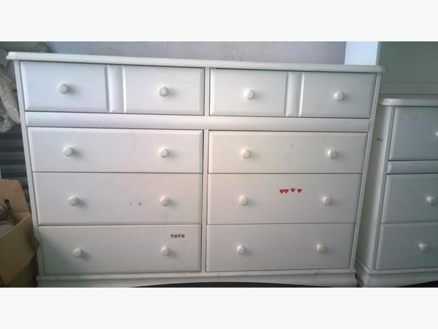 8-drawer dresser, Morigeau-Lepine, solid wood