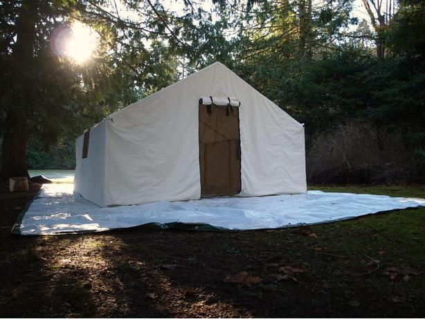 Deluxe Wall Tents & Deluxe Wall Tents Outside Okanagan Okanagan