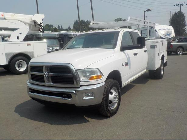 2012 Dodge Ram 3500 HD 4 Wheel Drive SLT Crew Cab Long Box Cummins Diesel Dually