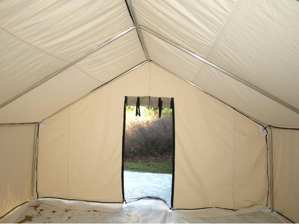 Deluxe Wall Tents