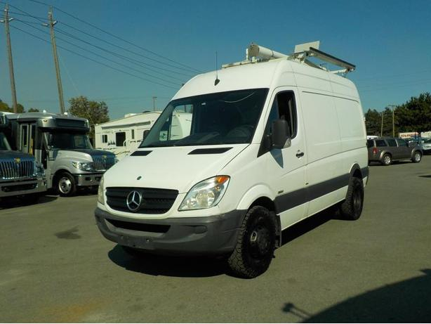 2010 Mercedes-Benz Sprinter 3500 High Roof 144-in. WB Cargo CDI Diesel Dually