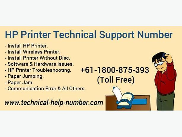24x7 Helpline Number To Fix HP Printer's Issues