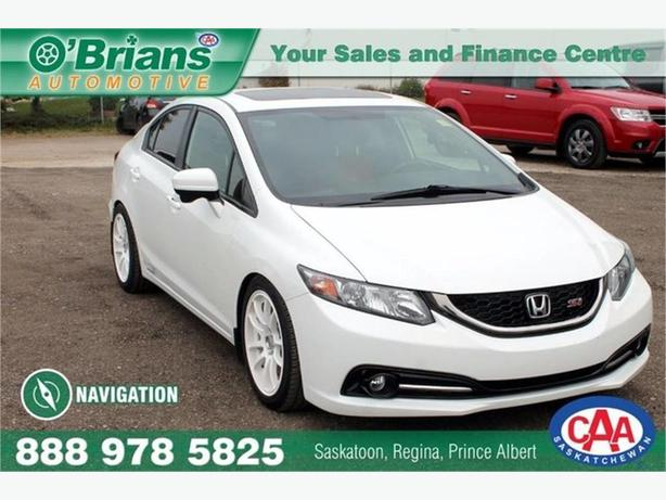 2015 Honda Civic Sedan Si w/Navigation!