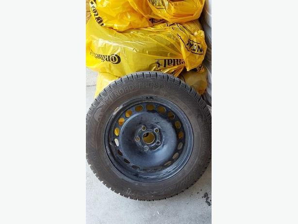 Set of 4 Nord Frost Winter Tires on Rims