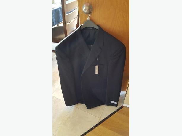 Brand New Linea Uomo Suit (Black) - Size 46L