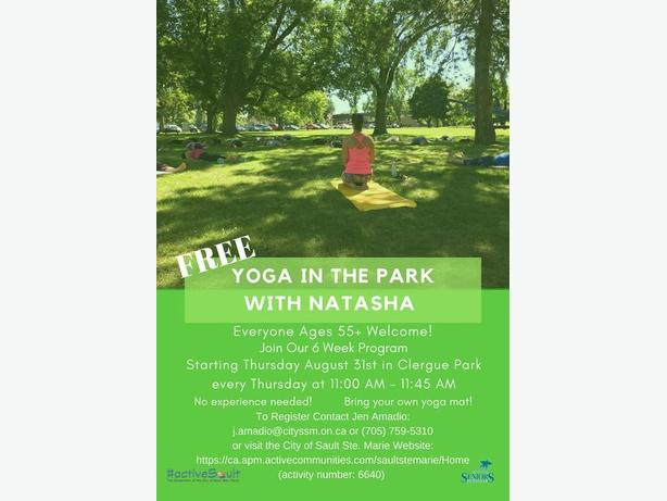 Yoga in the Park with Natasha