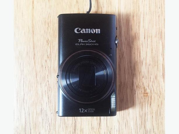 Brand New Canon Powershot ELPH 360 Digital Camera
