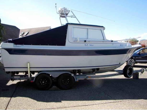 Sport Fishing Boat For Sale - 1987 22' Sea Sport - BC Mist