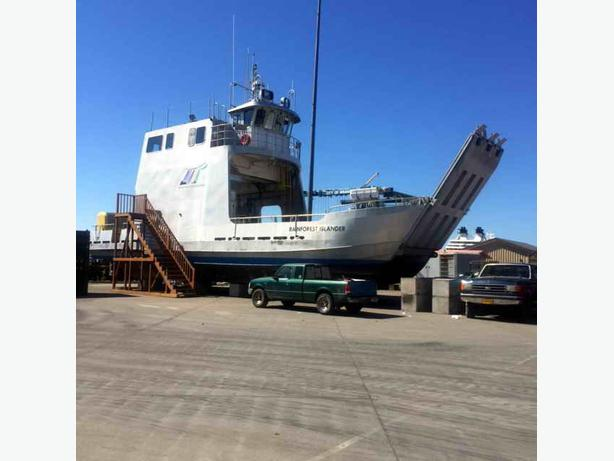 Ferry, Landing Craft, Work Boat For Sale - Rainforest Islander
