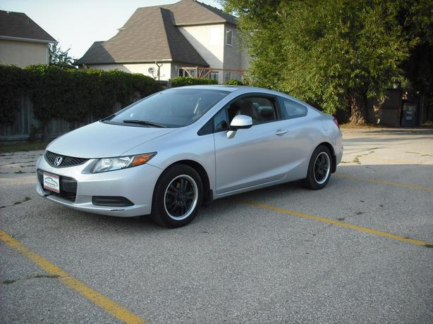 Civic Coupe with Sunroof, Amarican Racing wheels & low KMS