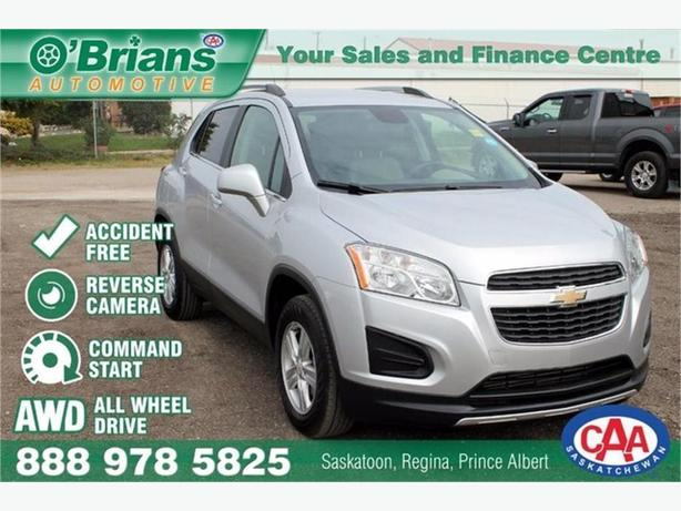 2015 Chevrolet Trax LT - Accident Free w/AWD