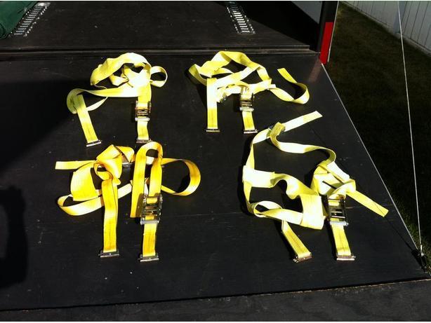 Erickson Wheel straps