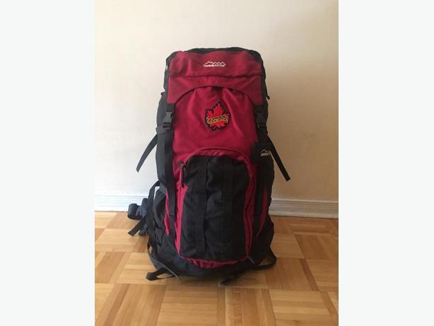 70 litre MEC backpack
