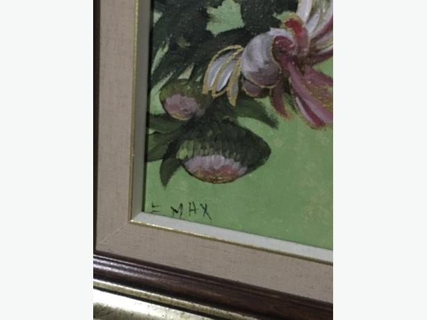 Chinese painting on canvas