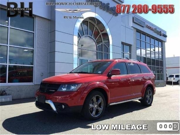 2015 Dodge Journey Crossroad - $146.56 B/W - Low Mileage