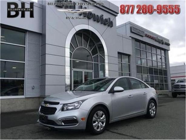 2015 Chevrolet Cruze LT w/1LT - $93.78 B/W