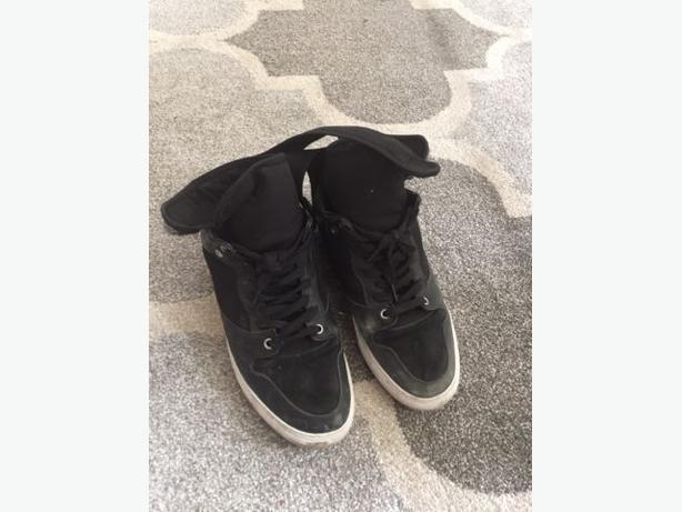 Balenciaga sneakers black neoprene with strap size 11 (45 euro)