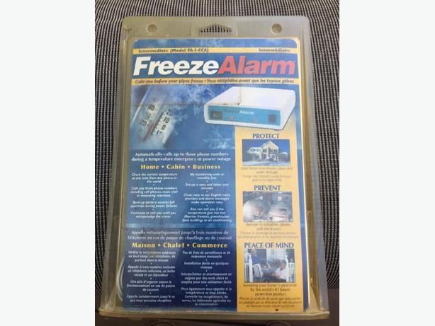 New FAI Freeze Alarm for cabin