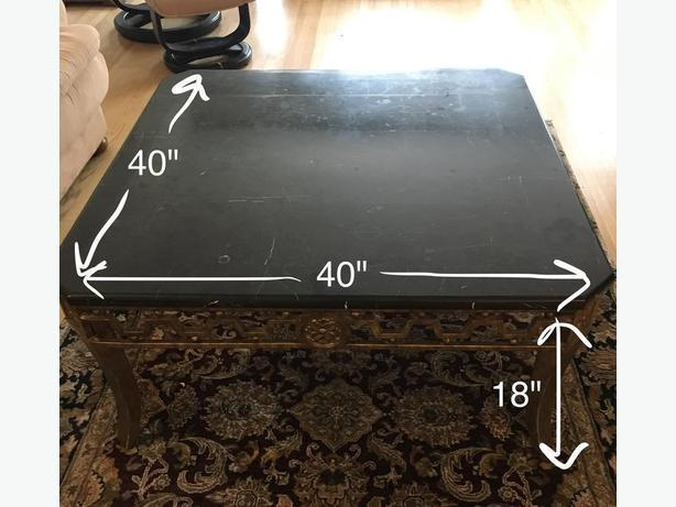 Real Granite Coffee Table