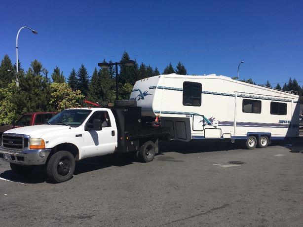 Affordable Fifth Wheel and Travel Trailer Moving