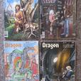 DRAGON RPG Magazines. 31 different from the 1980's. #54 to 123