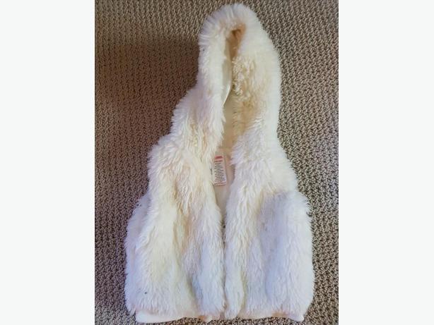 Gymboree white vest size 18-24 mos