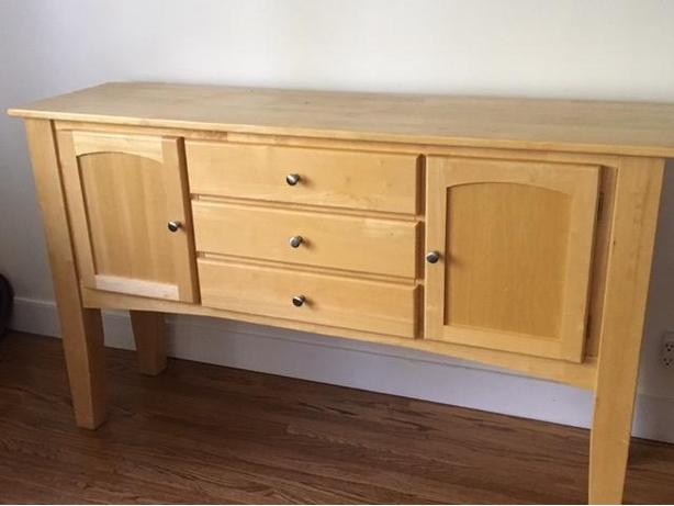 Beechwood Buffet Cabinet
